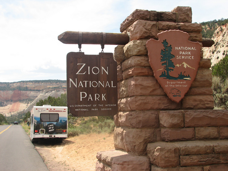 Entrance Park (Zion National Park Utah)