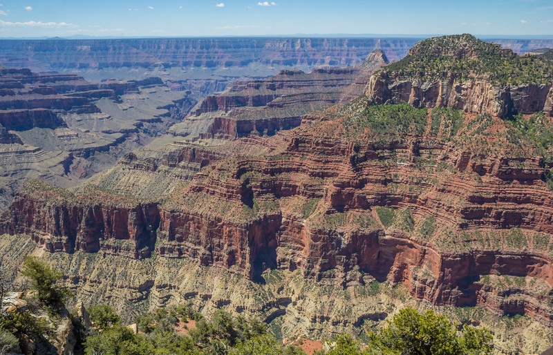 South and North Rim