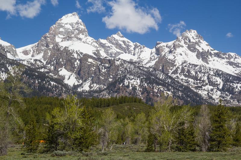 Grand Teton >4000m, Mount Owen and Teewinot Mountain
