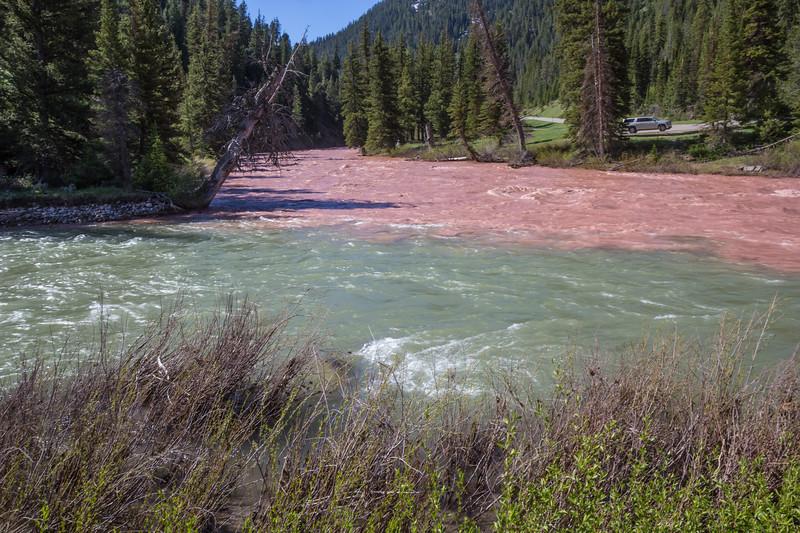 Snake river meets Hoback river