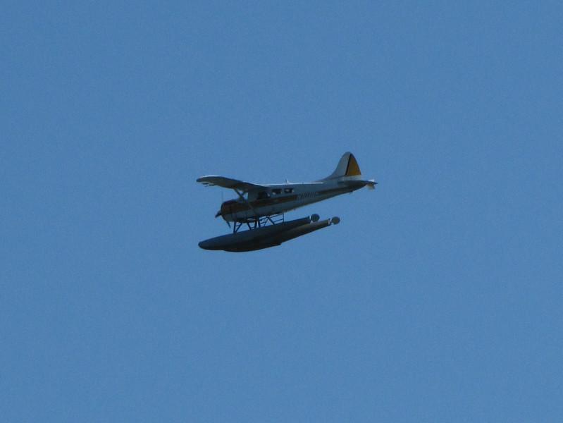 Water plane, whale watching excursion from Anacortes, San Juan Islands, Washington and Britisch Columbia