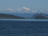 San Juan Archipelago and Mnt Baker 3286m.