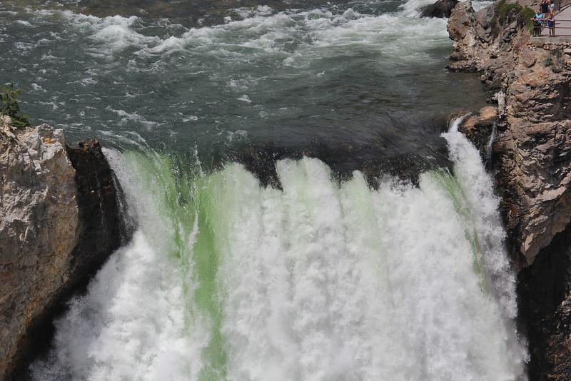 Falls at Grand Canyon of Yellowstone River