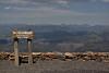 Mount Washburn 3152m.