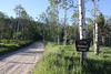 Campsite Teton National Forest