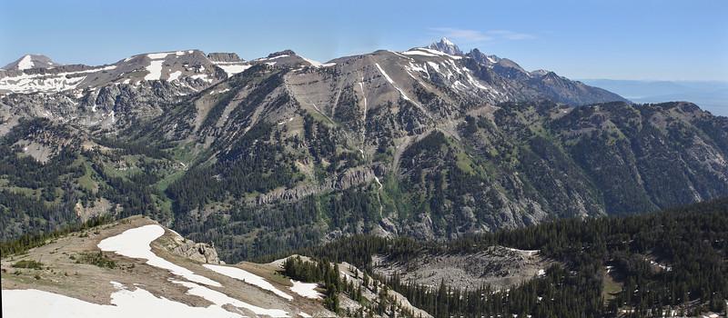 Grand Teton Mountains. Bridger-Teton National Forest