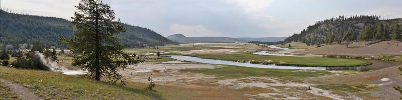 panorama, Geyser Basin