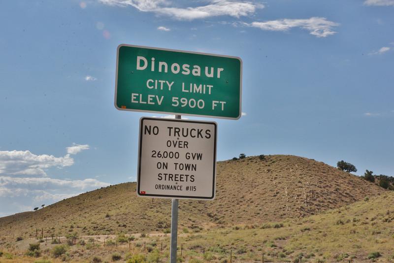 Landscape near Dinosaur National Monument