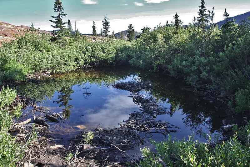 Secret Lake Trail, Alta, UT.