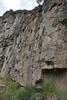 habitat of Petrophytum caespitosum, Wasatch Range