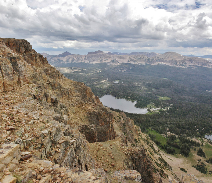 Bald Mountain,Geologically speaking, late Paleozoic metasedimentary rocks consisting of Schist and Hornfels while the surrounding area for miles is Mesozoic granitic rock. These ancient formations are richer in minerals and are more water efficient.
