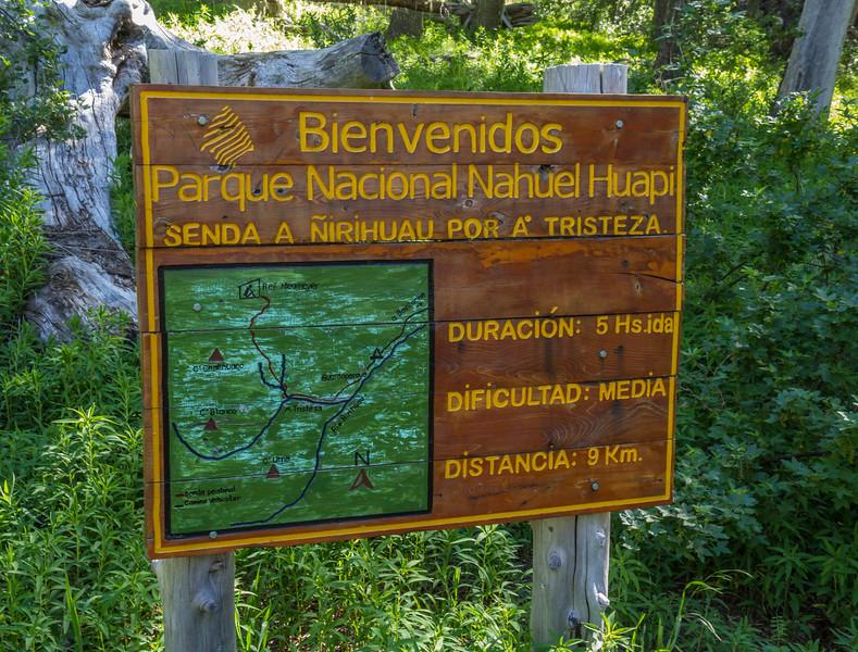 route Mirador Del Ñirihuau, P.N. Nahuel Huapi
