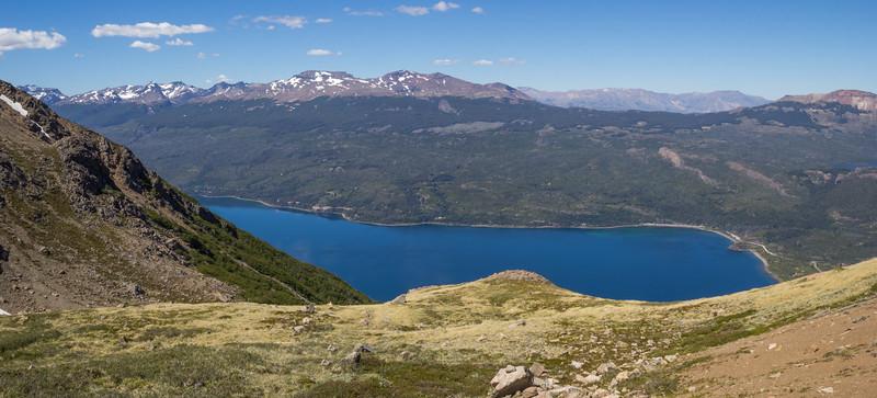 View at Lago Futalaufquen