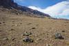 Mountain rock fields