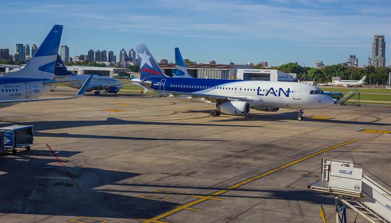 Domestic Flight Buenos Aires - El Calafate
