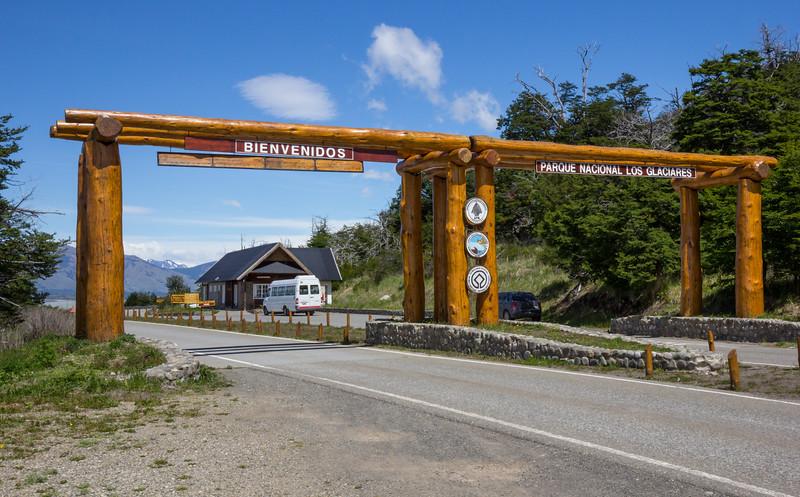 Entrance  N.P. Los Glaciares