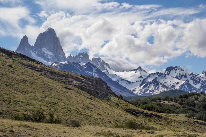 Landscape with Cerro Fitz Roy