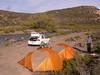 Campsite along  Rio Centinela