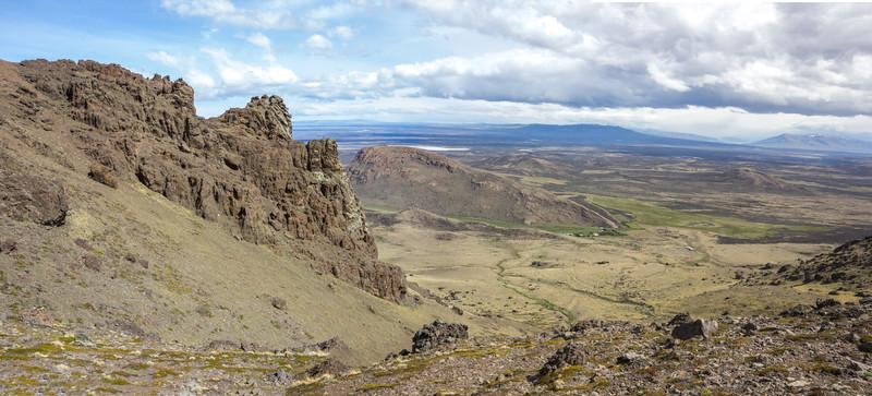 N of Puerto Natales near Estancia Fuentes de Coyle