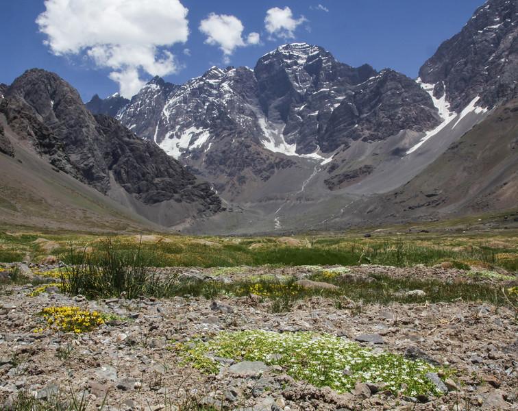 with Cerro Juncal, 5865m Argentina