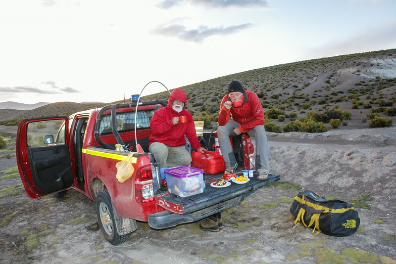 Campsite S of Cancose