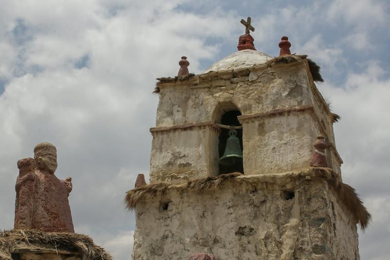 Catholic churche of Parinacota, 19 century