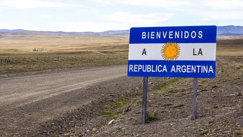 Border Chile - Argentina