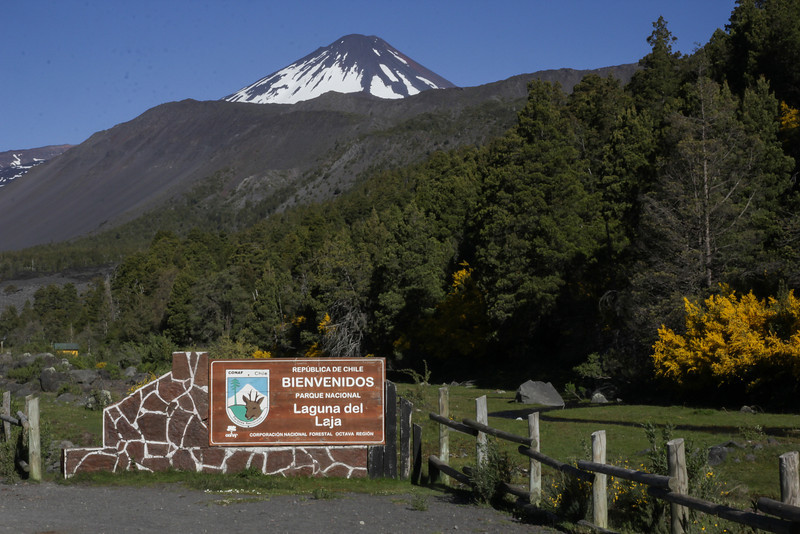 Entrance Parque Nacional Laguna del Laja