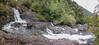 Salto Río Chaica in a valdivian rainforest