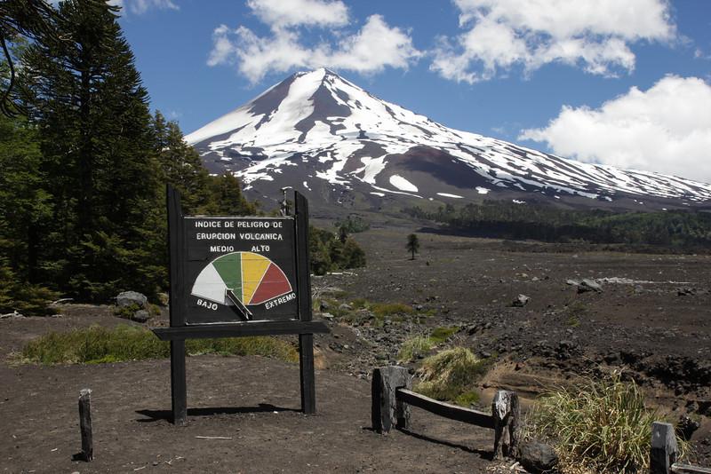 Very little chance of an eruption:-)