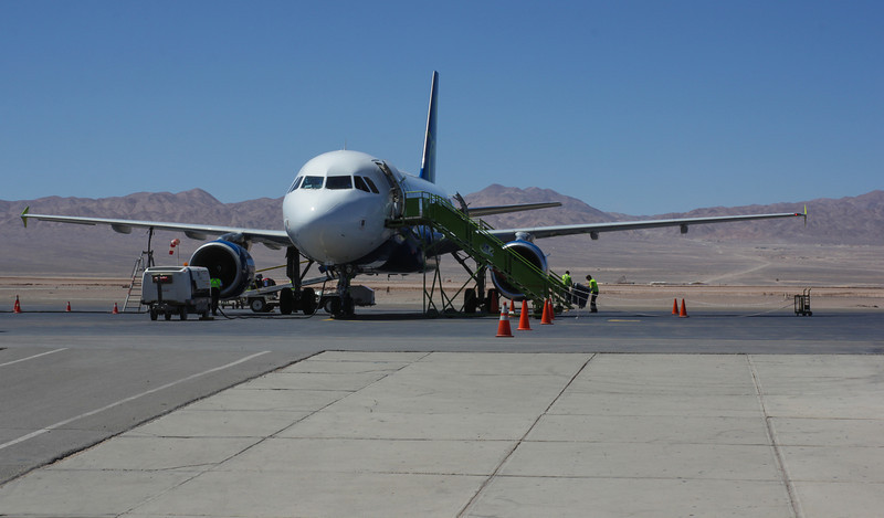 Flight Capiapo (Atacama)-Calama (Antofagasta)