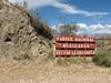 sign National Park Huascaran