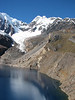 Safuna lakes 4300m with Pucahirca glacier