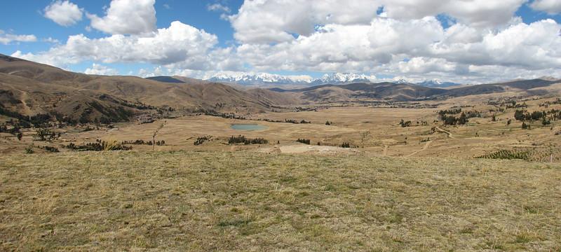 landscape with Nevado Ausangate (6372m.)