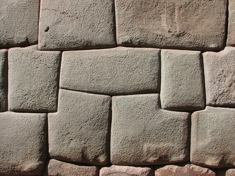 Inca stone works,  Cusco