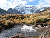 intermittent spring Upispampa 4450m. Ausangate