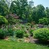 "Back of ""informal formal garden"""