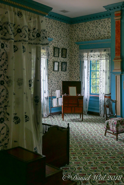 Second floor NE room; master bedroom