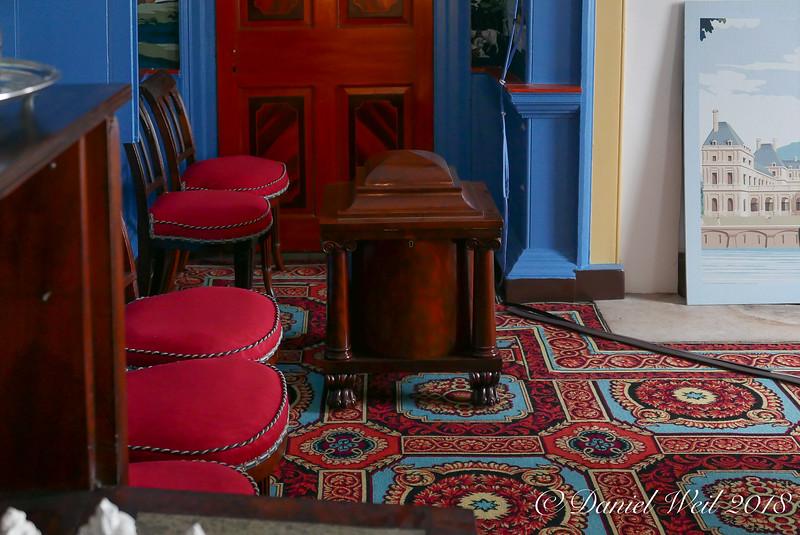 Cellarette, dining room