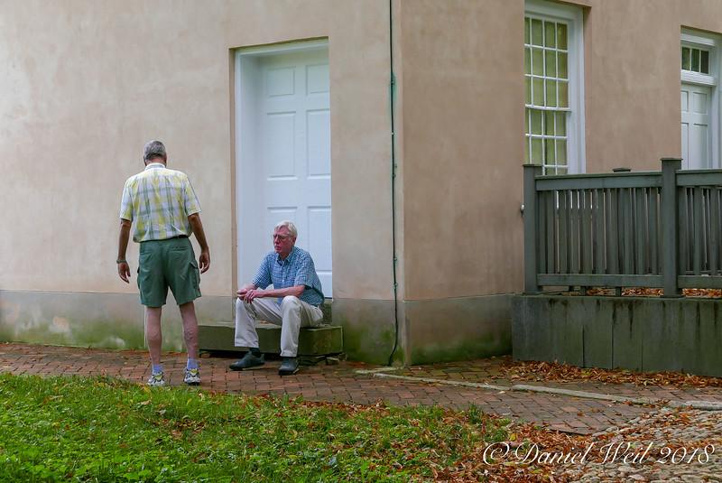 David, Mike C, N door of N end block.