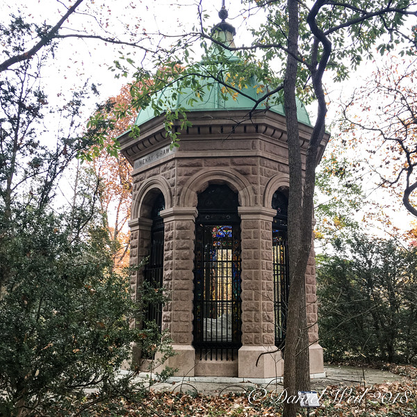 Second, in-use, Shaw mausoleum, MOBOT