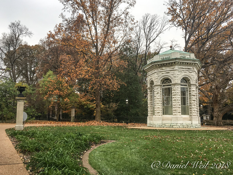 First mausoleum; not in use; MOBOT
