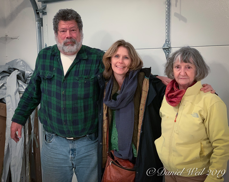 Jim, Marianne, Mary Ann, our garage PM