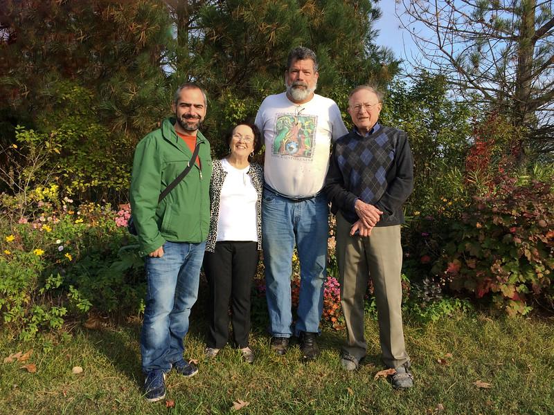 Eleftherios, Bobbie, Jim and Bob