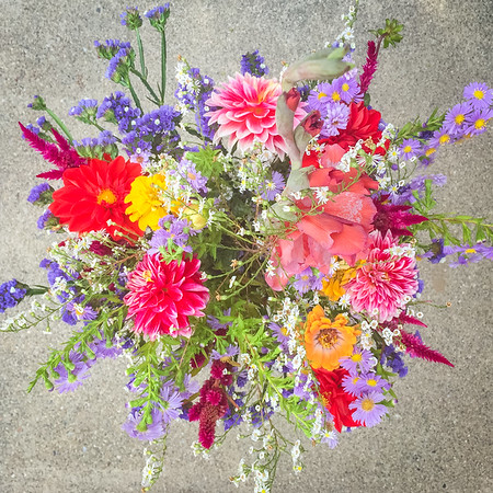 End of summer bouquet