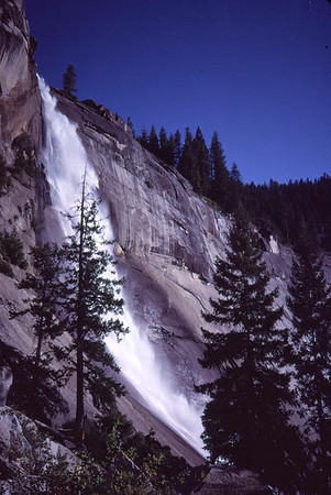 Nevada Falls-Yosemite National Park.