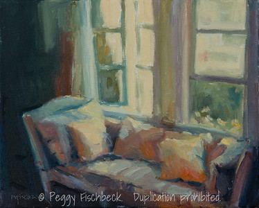 Sunny Place, 8x10, oil on canvas - SOLD