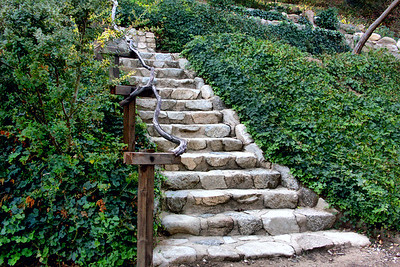 Stairs Up a Hill