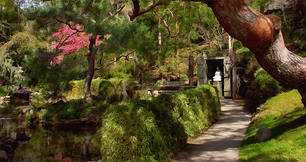 The Japanese Gardens Huntington Library Gardens CA