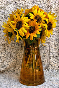 Terry's Birthday Sunflowers